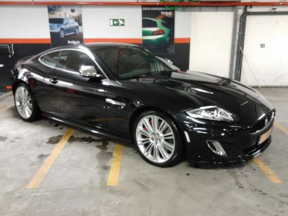 Jaguar xk-r behandeling De Luxe
