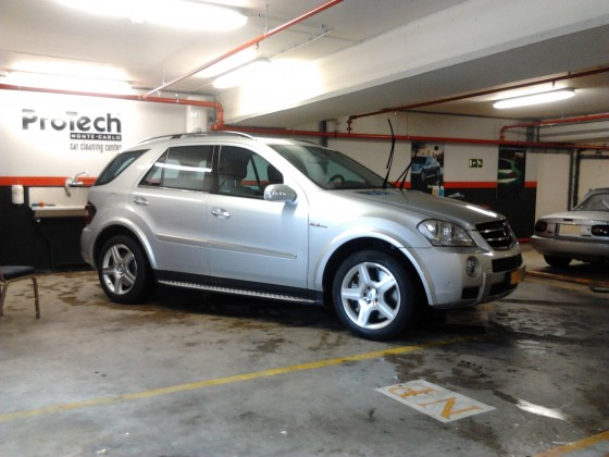 Mercedes ML 63 amg behandeling Standard +