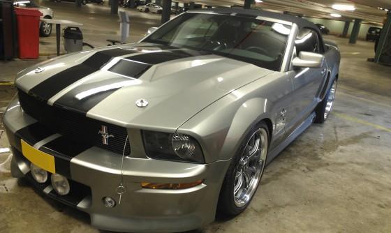 Ford Mustang 800hp lakverzegeling 500